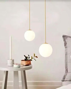 Lovisa Gold and White Pendant Light | Urban Series