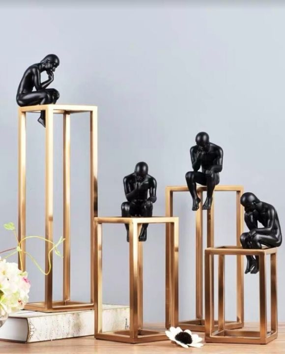 Black and Gold Decorative Items | Hotel Series