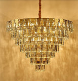Beautiful Pyramid Crystal Chandelier | Designer Series