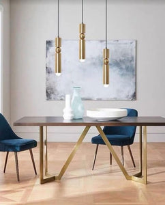 Gold Industrial Pendant Light | Urban Series