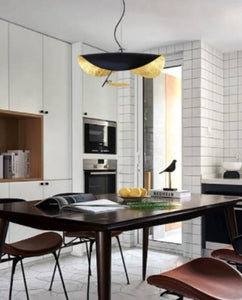 Baxia Black and Gold LED Pendant Light | Trendy Series