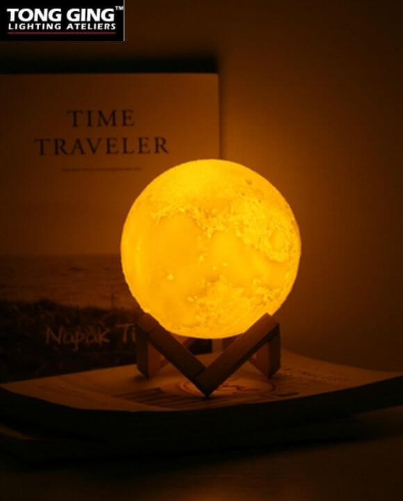 Nila Multi-color Moon Table Lamp | New Arrival