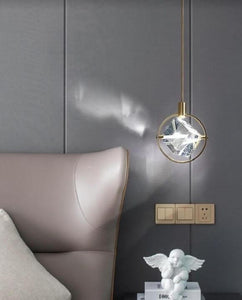 Crystal Asteroid Pendant Light | Stylish Series