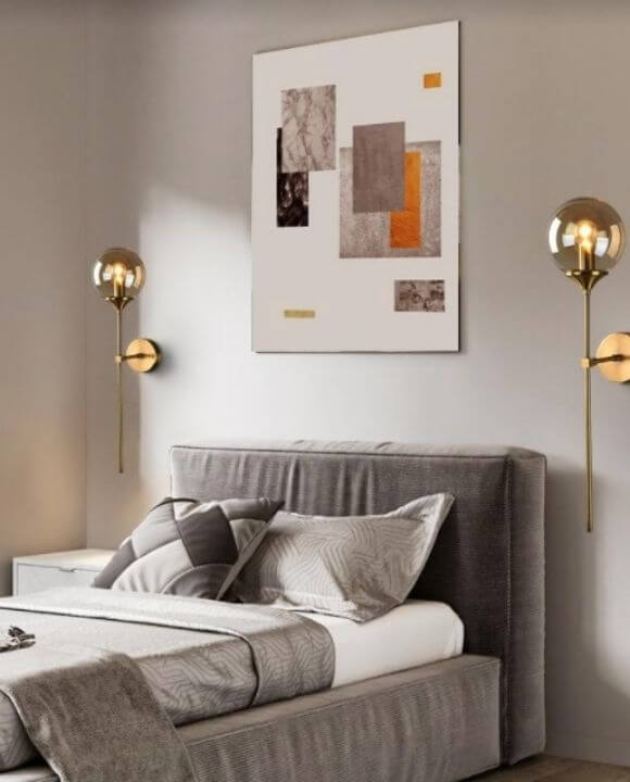 Copper Sphere Wall Lamp | Urban Series