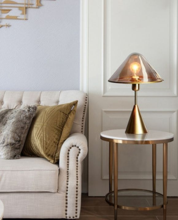 Paloma Gold Table Lamp | Minimalist Series
