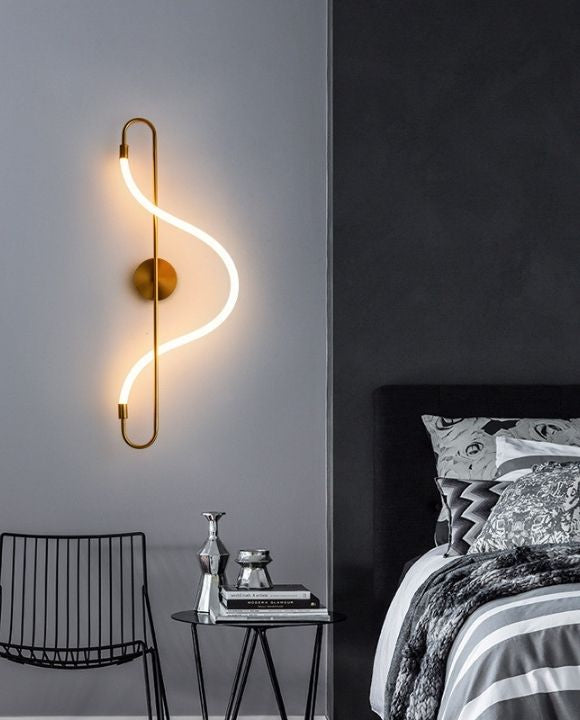 Salena LED Gold Wall Lamp | Modern Series