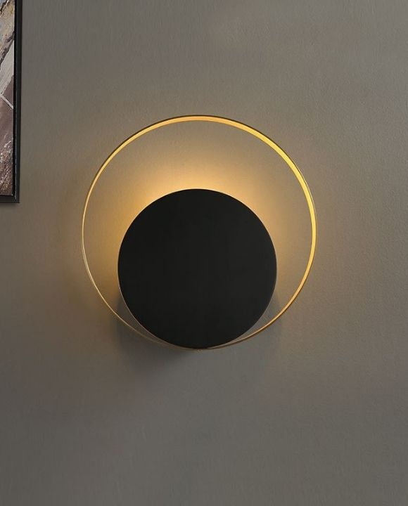 Bruno Gold and Black Wall Lamp | New Arrival