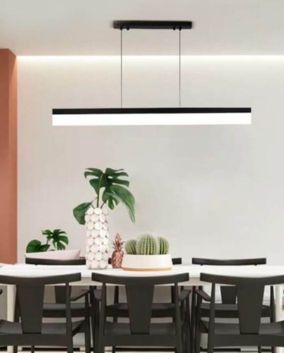 Atlas Rectangular Led Pendant Light | Minimalist Series
