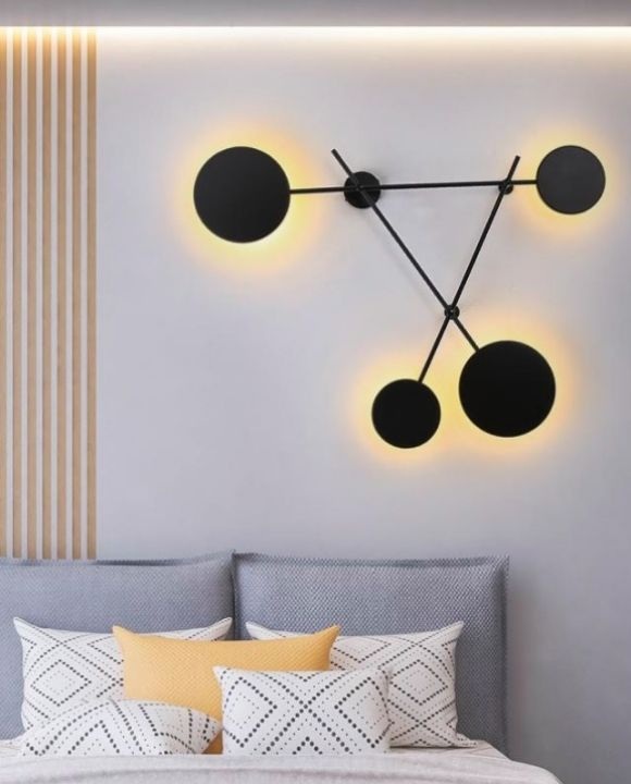 Safia LED Wall Lamp Black | Decor Series