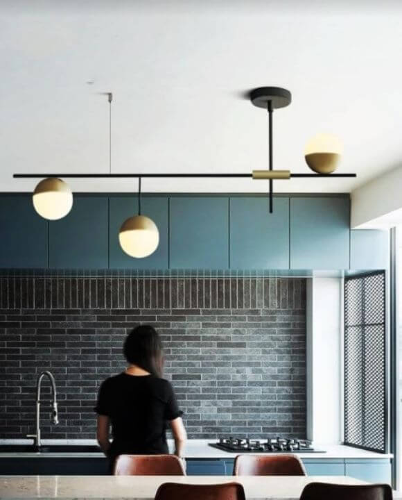 Ravena 3 Globe Spherical Pendant Light | Urban Series
