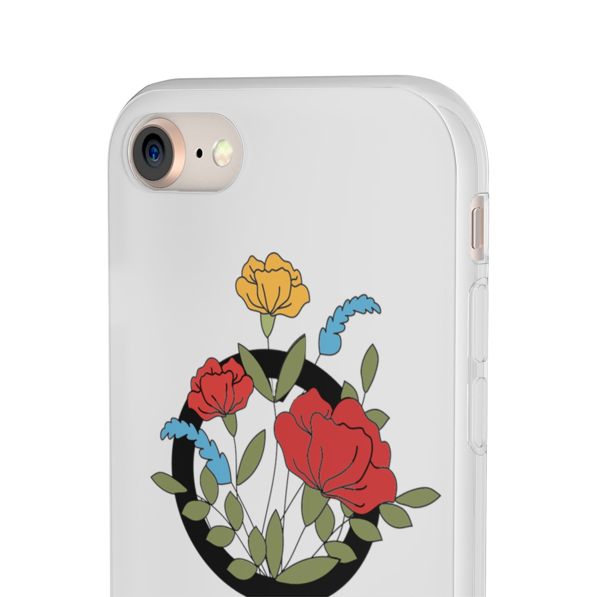 Flower Power Case, Phone Case - A life with no limits, embrace your inner feminist. Feminisme
