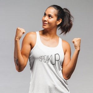 SpeakUP, Tank Tops - A life with no limits, embrace your inner feminist. Feminisme