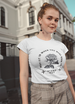 Beauty and No Beast, T-Shirt - A life with no limits, embrace your inner feminist. Feminisme