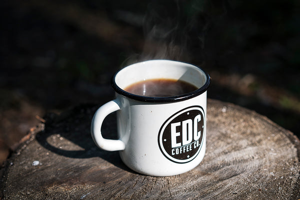 EDC Coffee Co White Mug