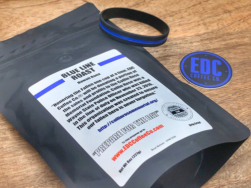 Blue Line Roast (8oz) - EDC Coffee Co.®