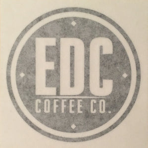 "3"" Vinyl Sticker - EDC Coffee Co.®"