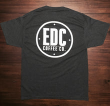 Smoke Gray Dual Logo T-Shirt - EDC Coffee Co.®