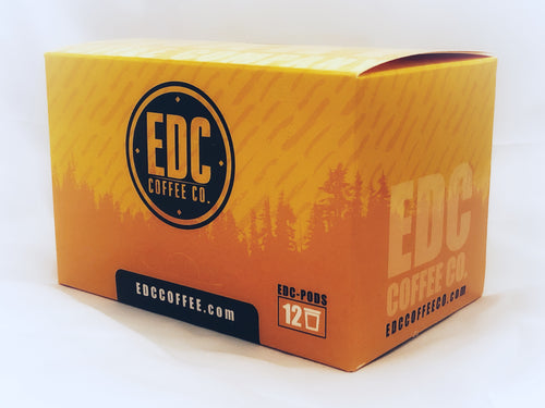 EDC pods by EDC Coffee Co.