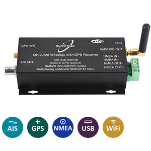 WiFi AIS and GPS with NMEA QK-A026