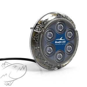 4 pack DISCOUNT OPTION! Bluefin Piranha P6 3200-lumens 12v/24v 40W