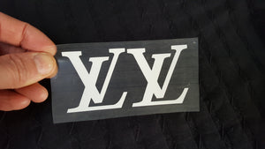 Louis Vuitton LV logo flex thermocollant
