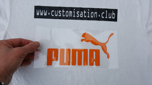 Sticker PUMA logo transfert thermocollant