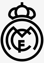 Charger l'image dans la galerie, Real Madrid Club foot sticker thermocollant