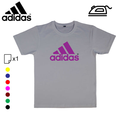 Logo ADIDAS transfert thermocollant - Customisation Club