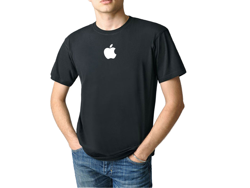 Apple logo sticker pour textile