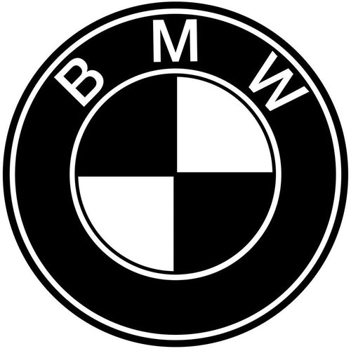 Logo BMW transfert thermocollant