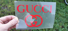 Load image into Gallery viewer, GUCCI logo flex thermocollant