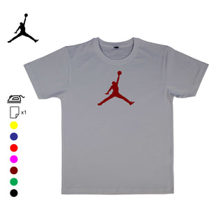 JORDAN AIR logo sticker flex thermocollant - Customisation Club