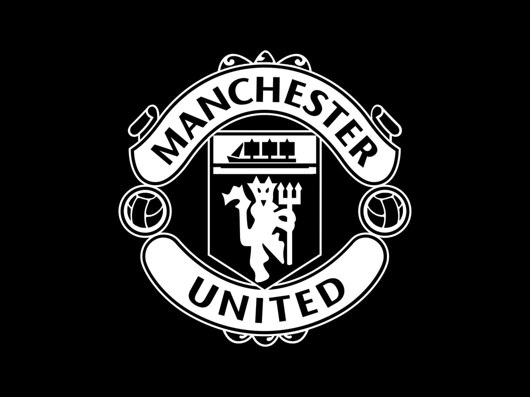Manchester United sticker thermocollant