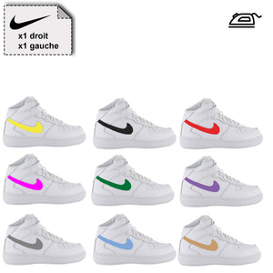 Nike chaussures logo SWOOSH personnalisé - Customisation Club