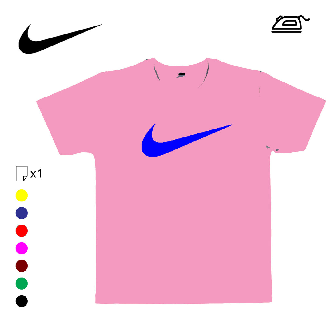 Logo SWOOSH de Nike en flex thermocollant - Customisation Club