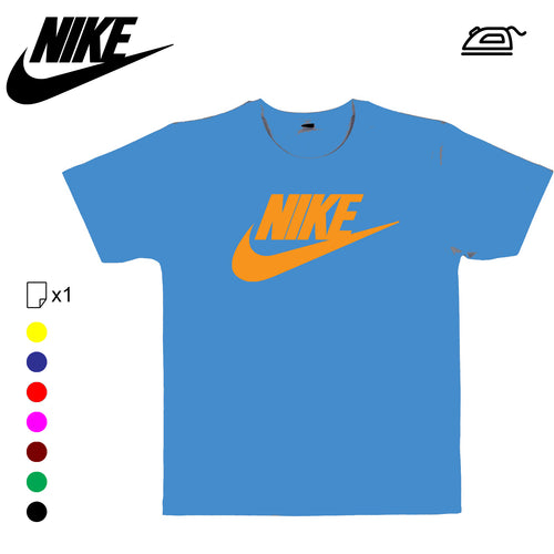 Nike logo SWOOSH sticker flex thermocollant - Customisation Club