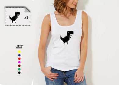 T-shirt femme DINOSAUR - Customisation Club