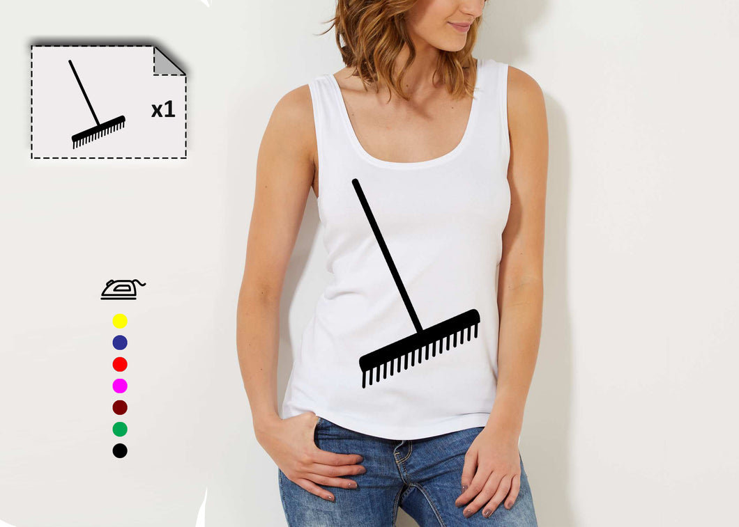 T-shirt femme RATEAU - Customisation Club