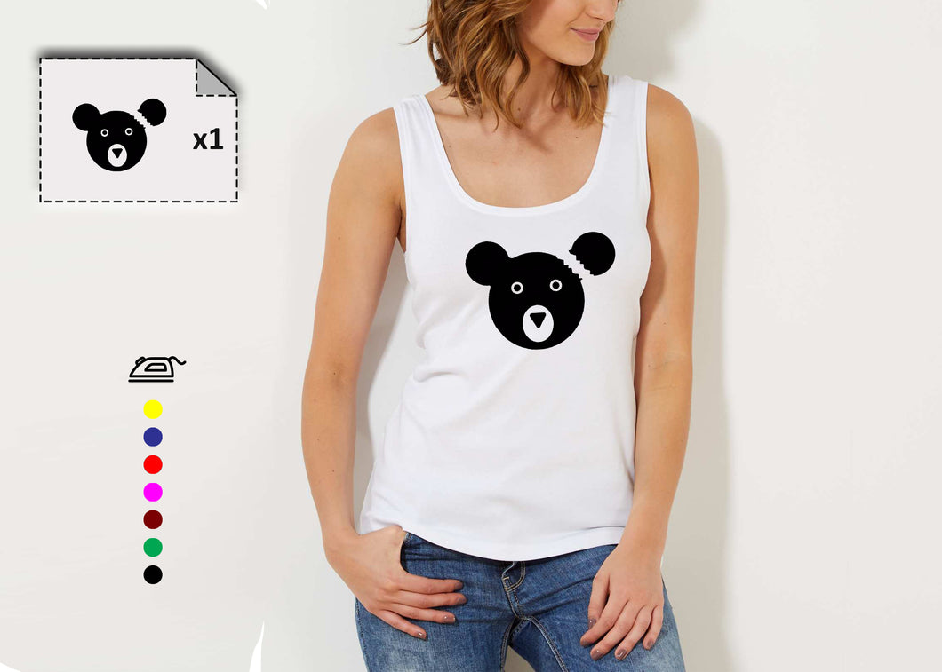 T-shirt femme TEDDY BEAR - Customisation Club
