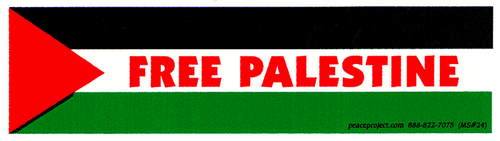 Free Palestine Sticker - narrow
