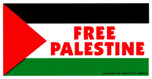 Free Palestine Sticker - wide