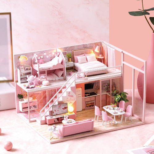 DIY Miniature Sabrina's Loft Dollhouse