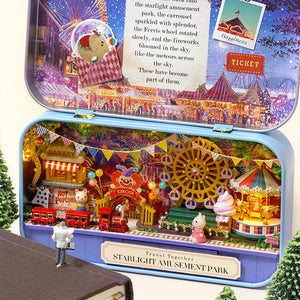 DIY Miniature Starlight Amusement Park Box Theater