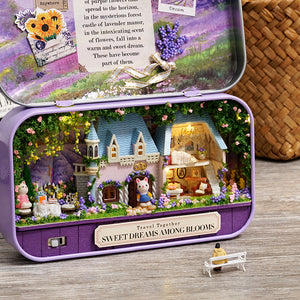 DIY Miniature Sweet Dreams Among Blooms Box Theater