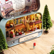 DIY Miniature Roaming in Paris Box Theater