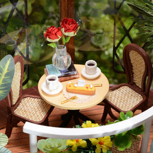 DIY Miniature Garden Cafe