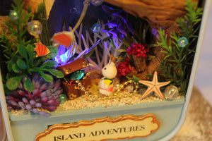 DIY Miniature Island Adventure Box Theater