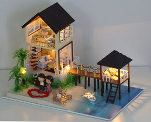 Miniature DIY Boutique Cottage Set