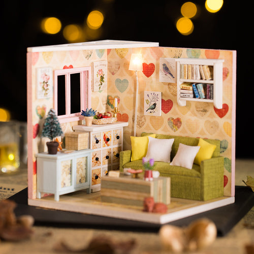 DIY Miniature Jackie's Leisure Room