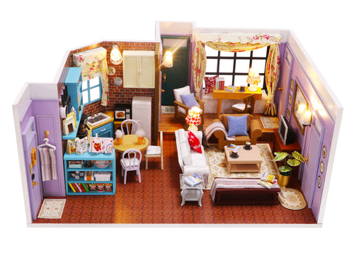 Miniature DIY Monica's Apartment Set